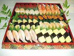 大皿寿司(鶴亀)